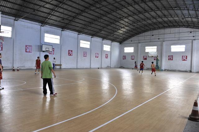 室內籃球館